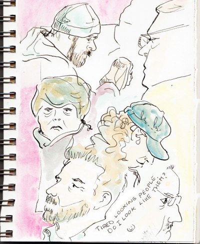 Sketching People