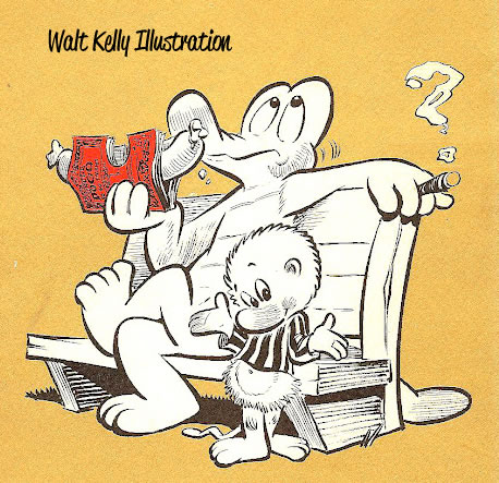 Walt Kelly Illustration